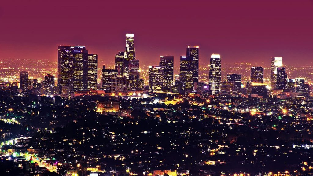 East Los Angeles backdrop